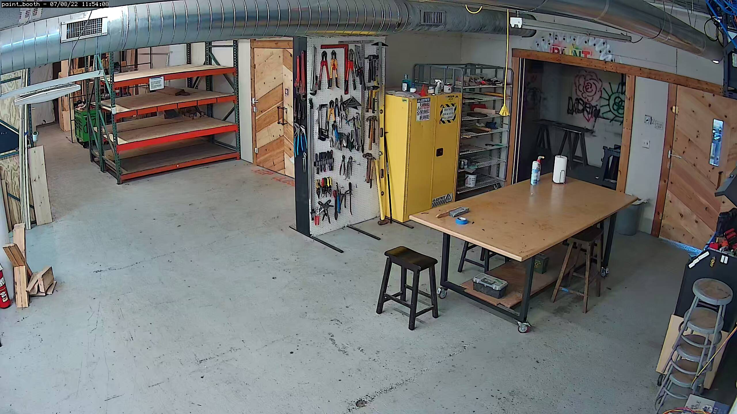 Paint Booth Camera